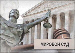 какие дела рассматривает мировой суд